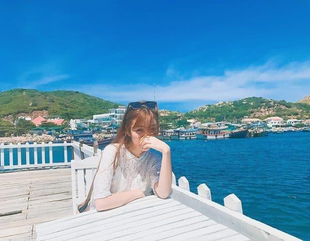 Đảo Bình Hưng đang dần được khai thác để phục vụ du lịch ở vịnh Cam Ranh(Ảnh: @ribisachi)