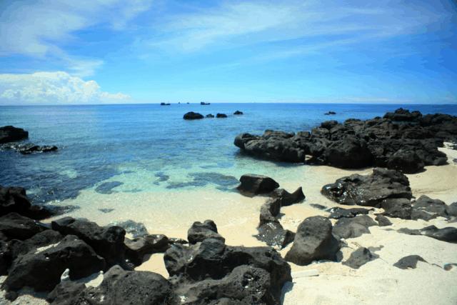 Bức ảnh này được chụp tại đảo Lý Sơn của Quảng Ngãi. (Ảnh ST)