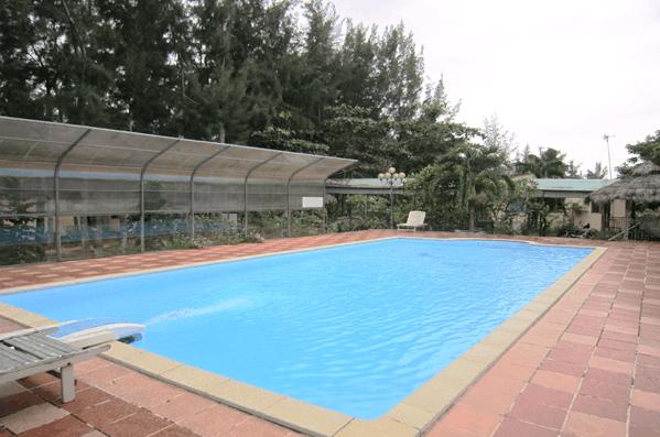 Hình ảnh bể bơi tại khu nghỉ mát Kỳ Nam - Cần Giờ