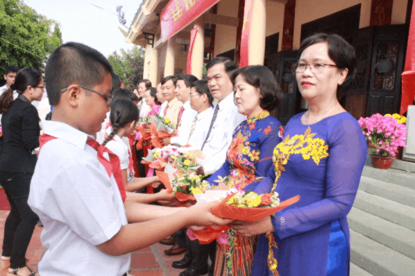 Hình ảnh đẹp về ngày hội nhà giáo Việt Nam