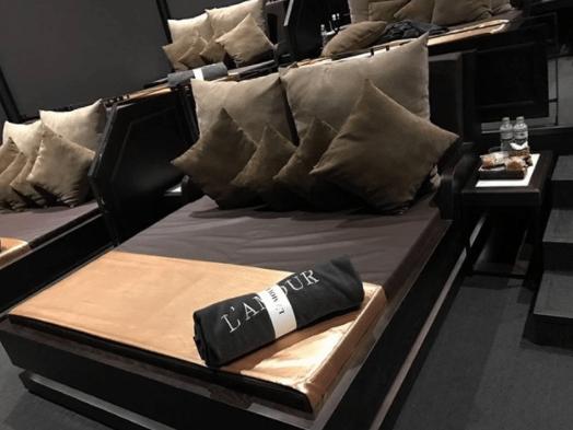 Hình ảnh giường xem phim tại L'amour - CGV Liberty Hoàng Văn Thụ