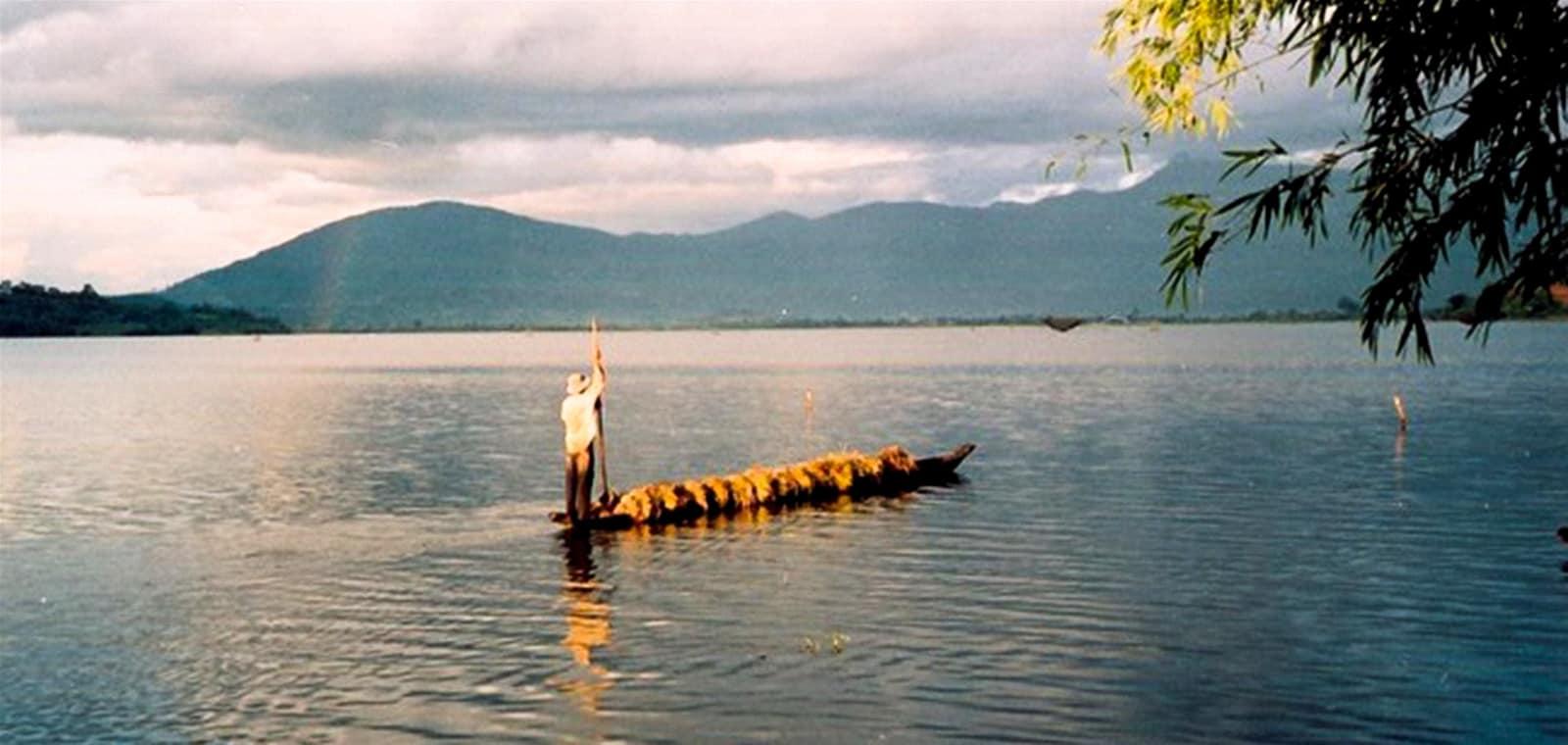 Khung cảnh yên bình của Hồ Lak - Buôn Jun. (Ảnh ST)
