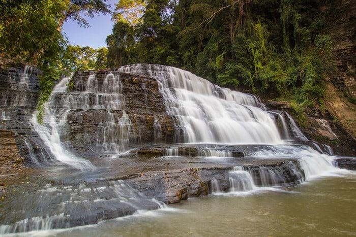 Thác nước được coi là nét đặc trưng của vùng đất Krông Năng. (Ảnh ST)