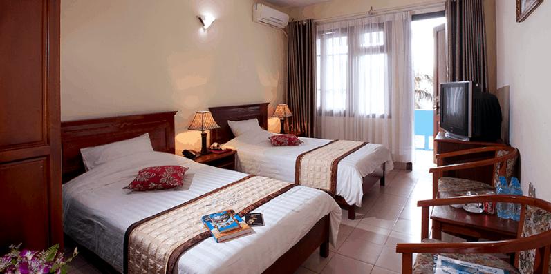 Không gian phòng nghỉ tại Hải Âu Hotel