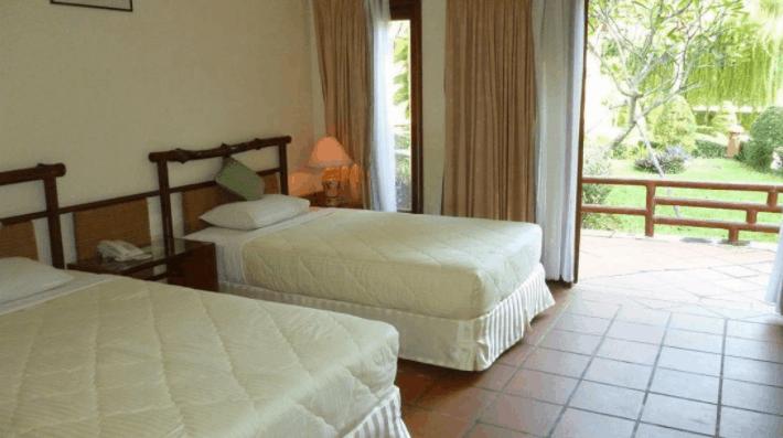 Không gian phòng nghỉ thoáng mát tại Cần Giờ Resort