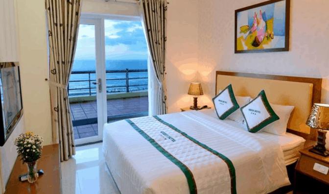 Không gian phòng nghỉ tại khách sạn Green Vũng Tàu