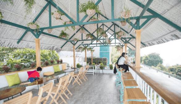 Không gian tuyệt đẹp tại Lightroom coffee