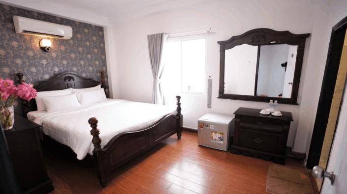 Không gian phòng nghỉ tại Diamond Suite Parkview