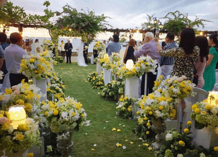 Khu nghỉ dưỡng Bình An còn là nơi tổ chức các sự kiện, lễ cưới
