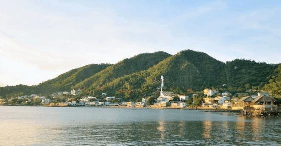 Khung cảnh tuyệt đẹp tại Bãi Dâu - Vũng Tàu