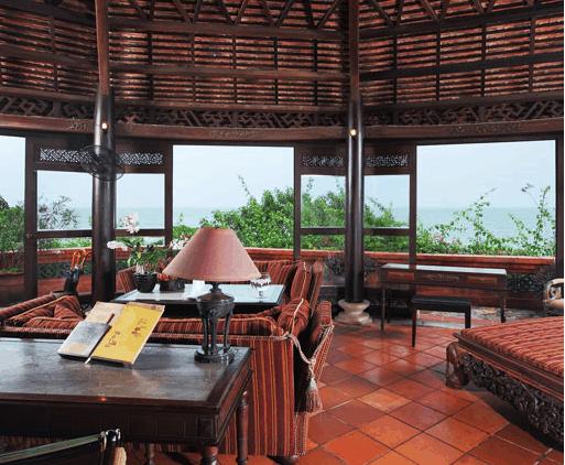 Khung cảnh yên tĩnh tại làng du lịch Bình An Vũng Tàu