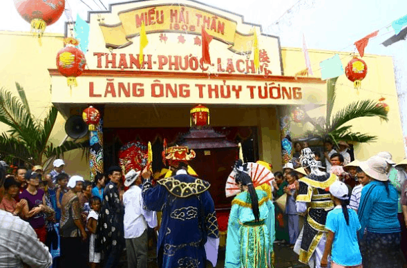 Lễ hội nghi Ông tại Lăng Ông Thủy Tướng Nam Hải