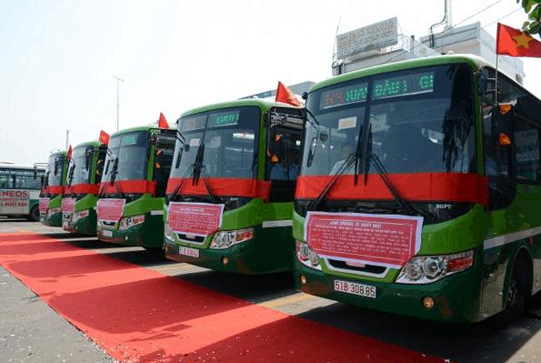 Lễ khánh thành tuyến xe buýt 75 Sài Gòn - Cần Giờ