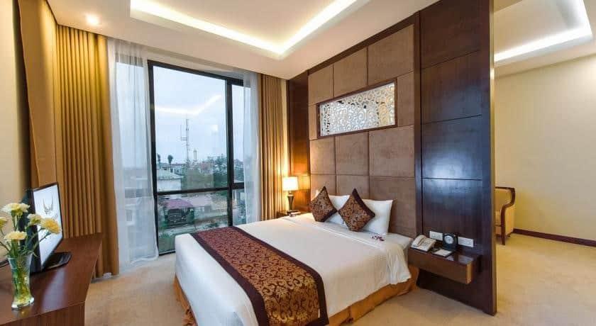 Khu phòng nghỉ cao cấp tại khách sạn Mường Thanh Luxury