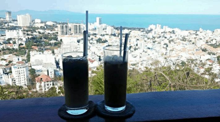 Ngắm cảnh toàn thành phố từ trên cao tại Sơn Đăng coffee