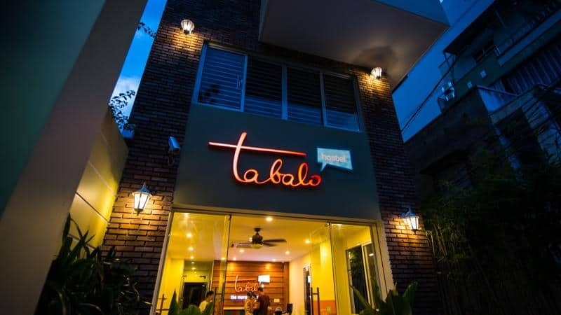 Từ ngoài nhìn vào Tabalo homestay ở Nha Trang (Ảnh: ST)