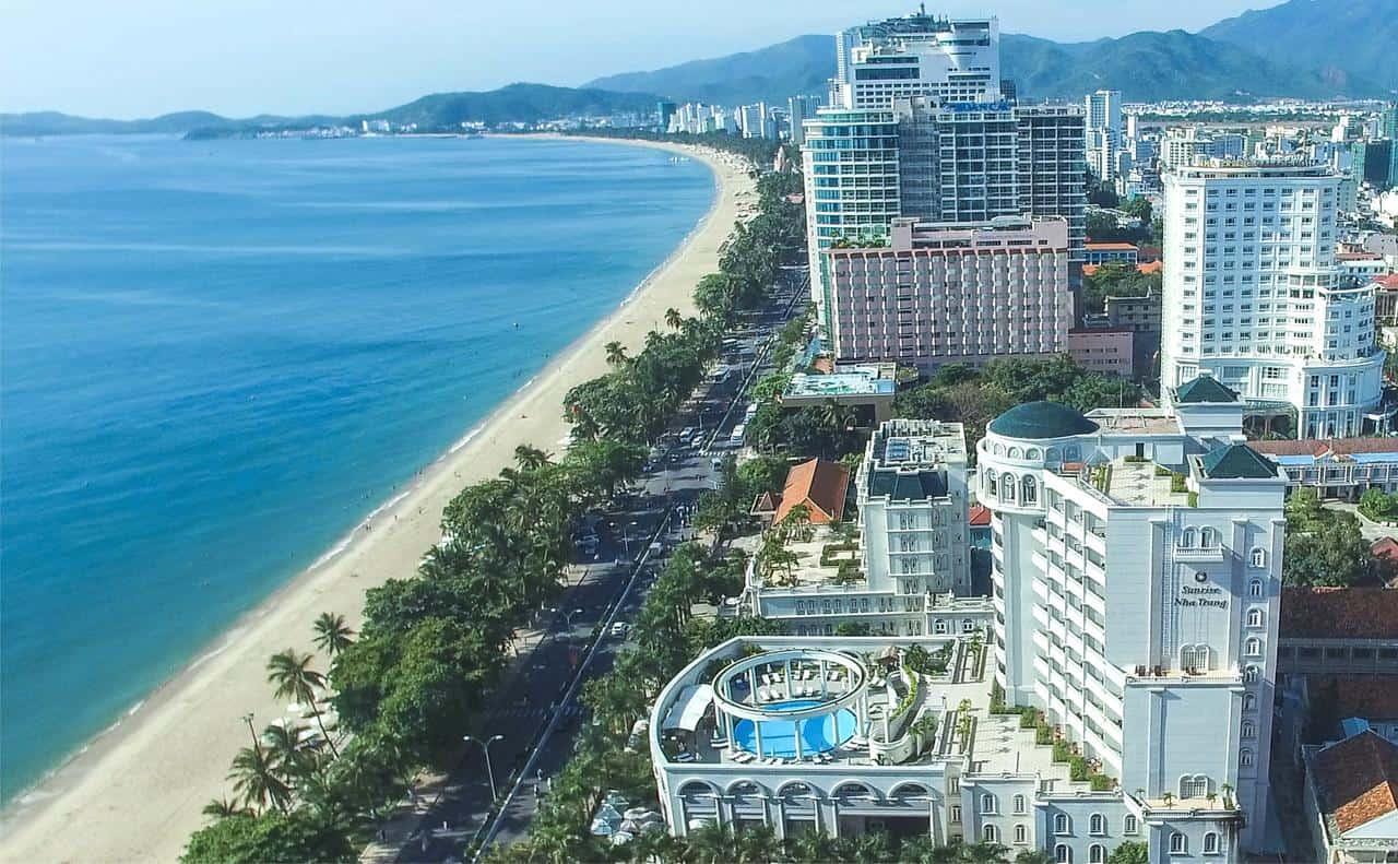 Một góc nhỏ của biển Nha Trang. (Ảnh ST)