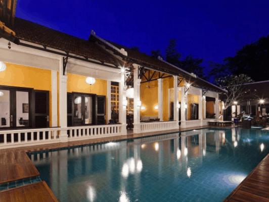 Những ngôi nhà được xây dựng mang đậm phong cách Việt Nam