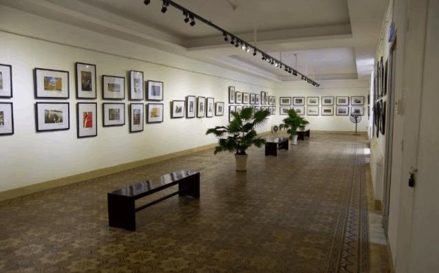 Bảo tàng mỹ thuật là nơi trưng bày các tác phẩm nghệ thuật