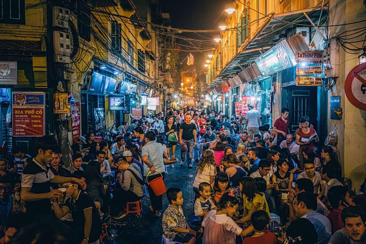 Ta Hien Beer Hanoi