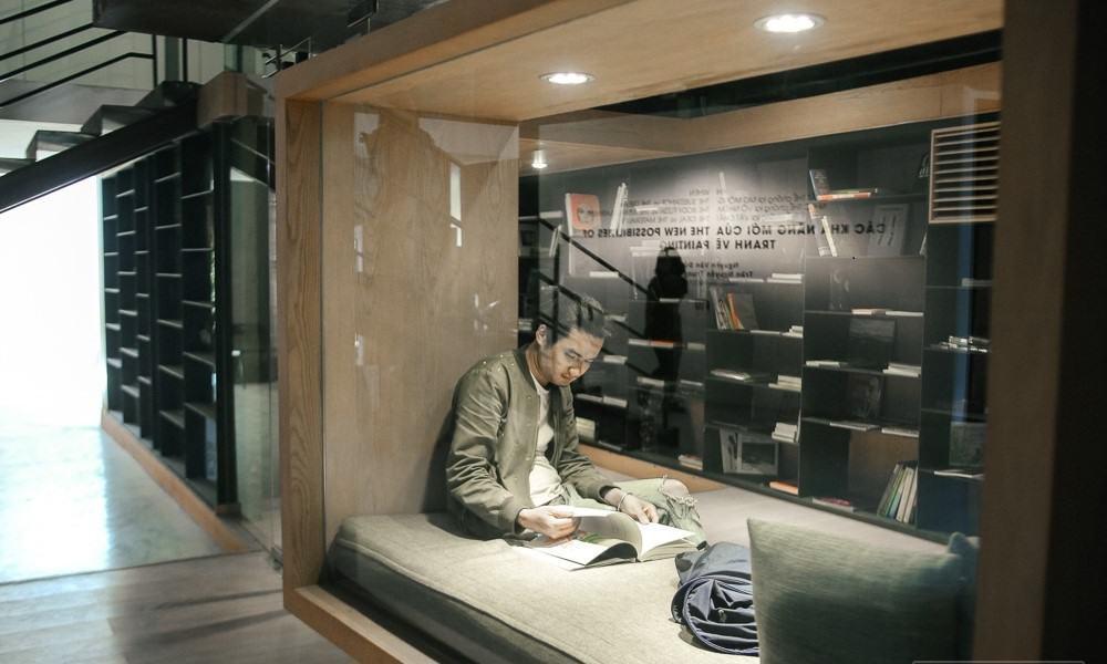 Phòng đọc sách ấn tượng, đẹp không thua gì nước ngoài