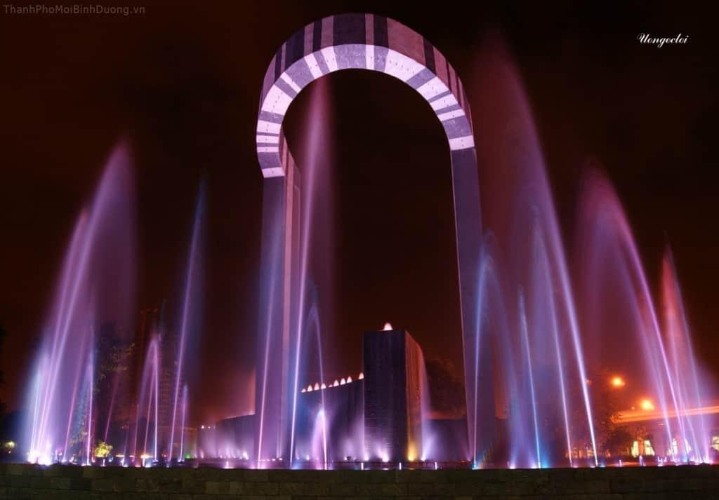 Quang cảnh công viên nhạc nước