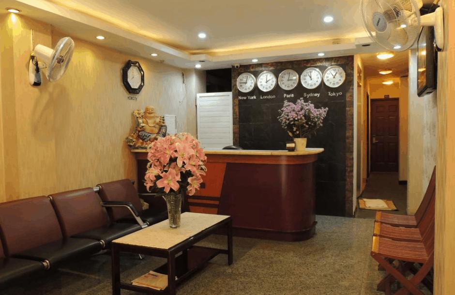 Hình ảnh quầy lễ tân tại nhà nghỉ Sao Nam - Southern Star Hotel