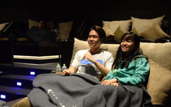 Rạp phim L'amour là điểm đến lý tưởng cho các cặp đôi vào cuối tuần