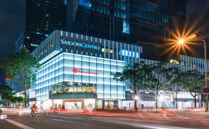 Sài Gòn Centre nổi bật giữa lòng quận 1. Ảnh: ST