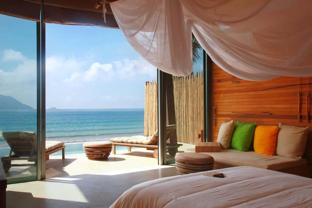 Không gian nghỉ dưỡng được thiết kế vô cùng ấm áp, tiện nghi và sang trọng