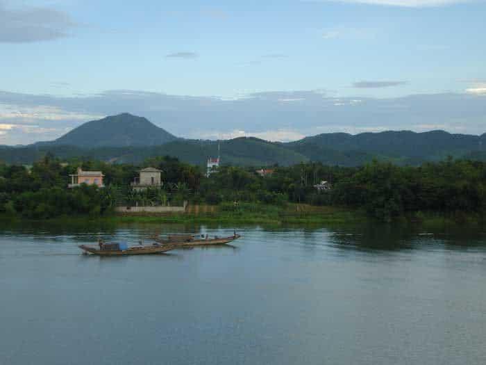 Ảnh chụp dòng sông Krông Năng. (Ảnh ST)