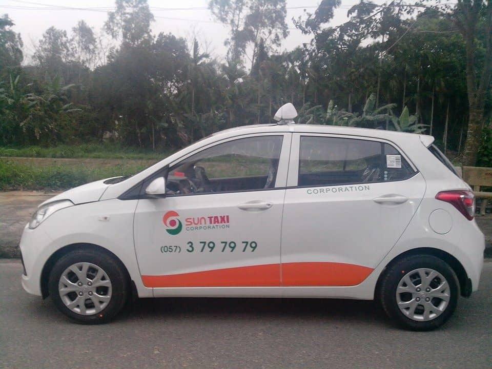 Sun Taxi. (Ảnh ST)