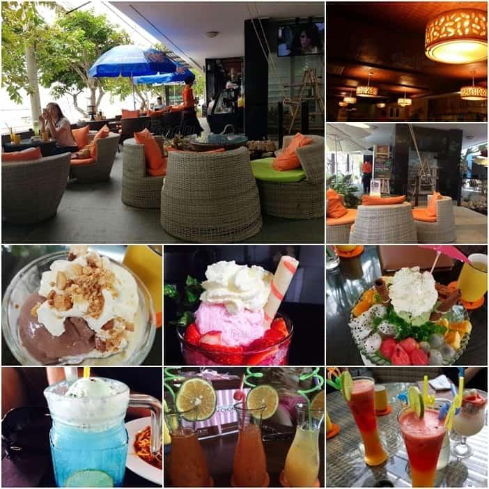 Tại quán Seaside Cafe Vũng Tàu có nhiều đồ uống ngon
