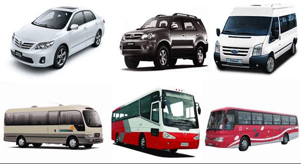 Tại Soha Travel có nhiều loại xe cho bạn lựa chọn