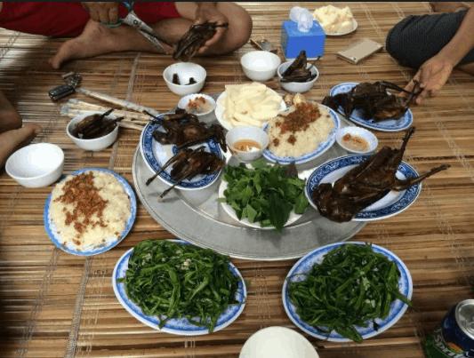 Cùng nhau tận hưởng những món ăn dân dã