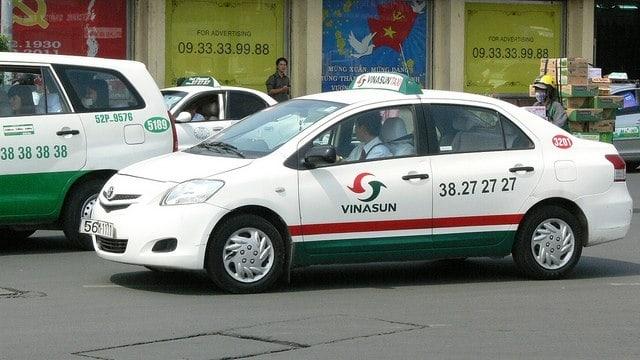 Taxi Vinasun. (Ảnh ST)
