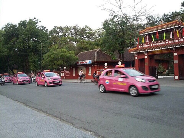 Taxi Bình Minh. (Ảnh ST)