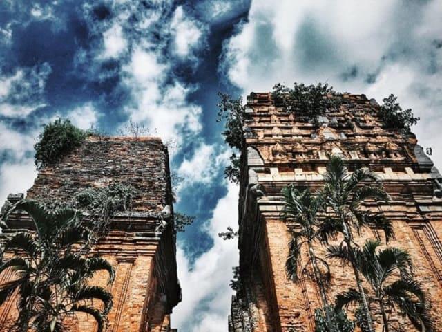 Tháp Đôi Quy Nhơn - Bình Định (Ảnh: ST)