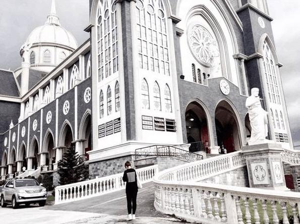 Vẻ đẹp tuyệt đẹp tại nhà thờ chánh tòa Phú Cường