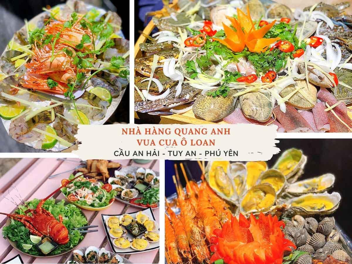 Đừng bỏ lỡ mùa hè được thưởng thức đại tiệc hải sản (Ảnh: Nhà hàng hải sản Quang Anh)