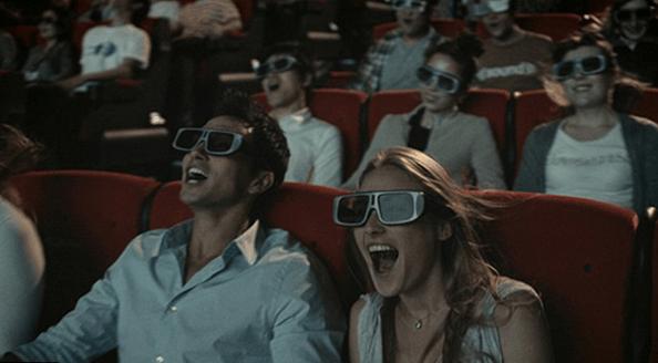 Xem phim 3D sống động ở rạp chiếu phim