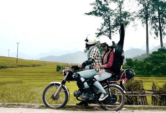 Khám phá đảo Nam Du bằng xe máy