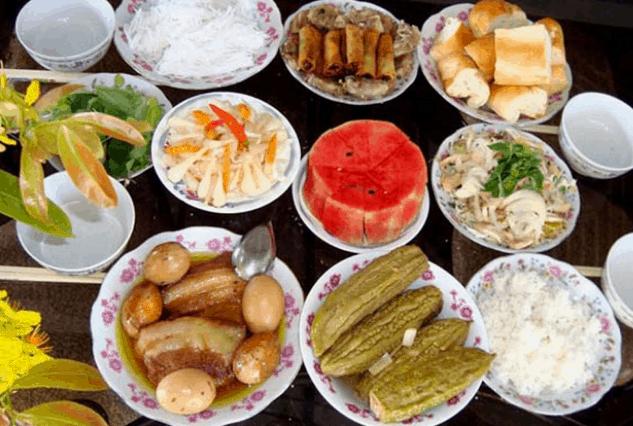 Món ăn ngày tết ở miền Nam (Ảnh ST)