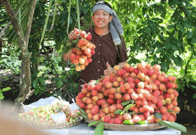 Trái cây trong vườn trái cây Mỹ Khánh (Ảnh ST)