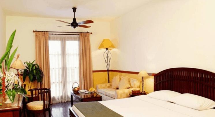 Phòng nghỉ sang trọng trong khu nghỉ dưỡng (Ảnh ST)