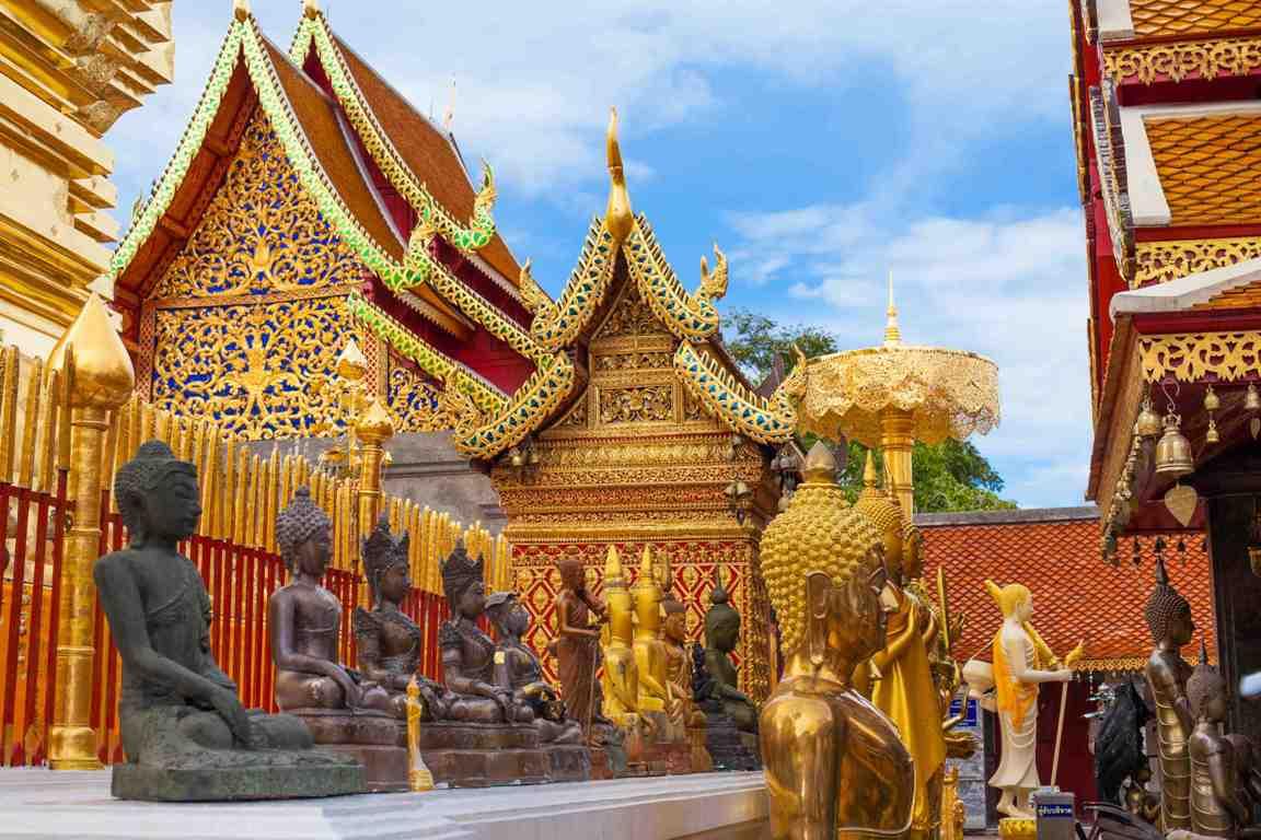 Ngôi chùa nổi tiếng linh thiêng ở Chiang Mai (ẢNH ST)
