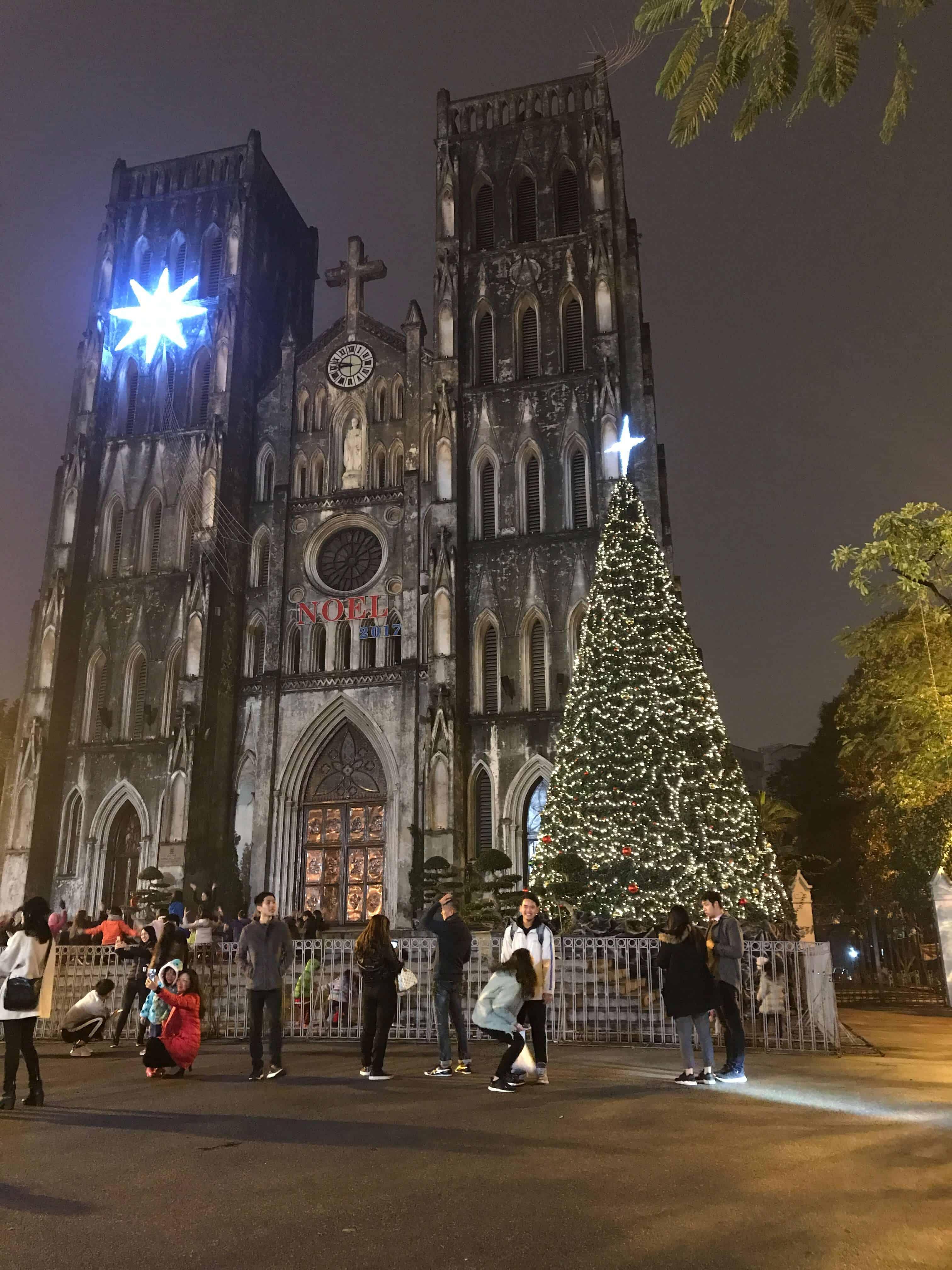địa điểm vui chơi Noel ở Hà Nội