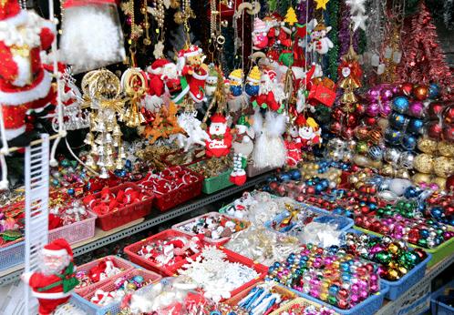 Mua đồ trang trí Noel ở đâu TPHCM