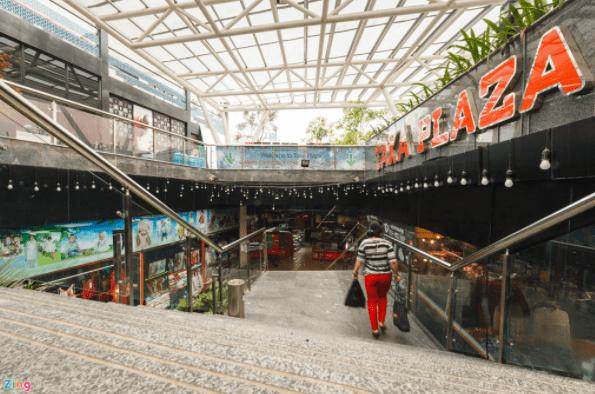 Sense Market - Khu chợ dưới lòng đất độc đáo tại công viên 23 tháng 9