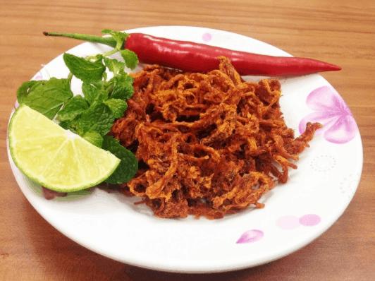 Thịt bò khô là một trong các món nhậu ngày Tết không thể thiếu